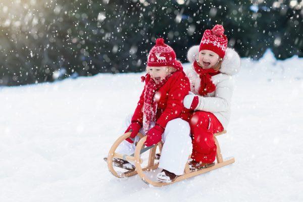 Crackboom affichage publicitaire d'activités hivernales